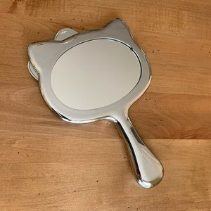Hello Kitty Bath - Hello Kitty Silver Handheld Mirror